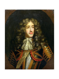 Portrait of James, Duke of York (1633-1701) as Lord High Admiral, C.1675 Giclee Print by Henri Gascard