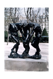The Three Shades, 1881 Giclee Print by Auguste Rodin
