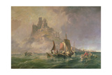 St.Michael's Mount Giclee Print by George the Elder Chambers