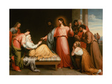 Christ Healing the Mother of Simon Peter Giclee Print by John Bridges