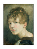 Portrait of Miss H.M. De Cardonnel Lawson, 19th Century Giclee Print by Thomas Barker of Bath