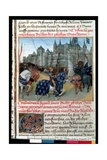 Fr 6465 F.223 Taking of Tours by Philippe Auguste (1165-1223) King of France in 1202 Giclee Print