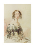 Portrait of Julia Cartwright Giclee Print by George Richmond