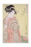 Somenosuke of Matsubaya, from the Series 'Array of Supreme Beauties of the Present Day', C.1794 Giclee Print by Kitagawa Utamaro