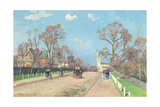 The Road to Sydenham, 1871 Reproduction procédé giclée par Camille Pissarro
