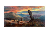 Cross at Chagford Giclee Print by William Widgery