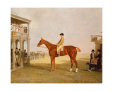 Lt. General Thomas Grovesnor's Chestnut Filly 'Defiance' after She Won the Northampton Gold Cup,… Giclee Print by Benjamin Marshall
