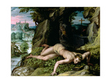 The Temptation of St. Benedict, C.1587 Giclee Print by Alessandro Allori