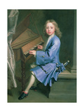 Garton Orme Seated at the Spinet, C.1707 Giclee Print by Jonathan Richardson