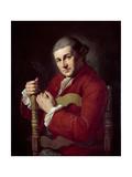 David Garrick (1717-79) Giclee Print by Angelica Kauffmann