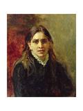 Portrait of Pelageya Antipovna Strepetova (1850-1903) 1882 Giclee Print by Ilya Efimovich Repin