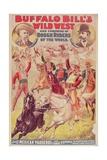 Buffalo Bill's Wild West Show Giclee Print