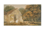 No.0735 a Country Churchyard, C.1797-98 Giclee Print by Thomas Girtin
