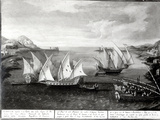 Incident Off Patras Between the Venetian Captain Ivanovich Da Dabrota and the Turkish Pirate… Photographic Print