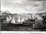 Incident Off Patras Between the Venetian Captain Ivanovich Da Dabrota and the Turkish Pirate… Photographic Print