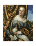 Lady or St. Agnes Giclee Print by Paolo Veronese