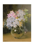 Spring Flowers in a Vase Giclee Print by Maud Naftel