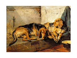 Lazy Moments, 1878 Giclee Print by John Sargent Noble