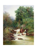 View in Gidley Park, Devon Giclee Print by William Widgery