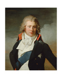 Portrait of Prince Augustus Frederick Giclee Print by Henri-Pierre Danloux