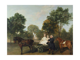 The Rev. Robert Carter Thelwall and Family, 1776 Giclee Print by George Stubbs