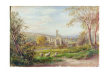 Kirkstall Abbey, Leeds Giclee Print by George Alexander