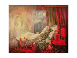 The Stuff That Dreams are Made Of, 1858 Giclee Print by John Anster Fitzgerald