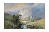 Lakeland Landscape Giclee Print by Edward Stott