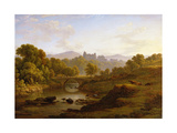 Doune Castle, Perthshire Giclee Print by John Glover
