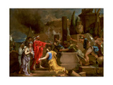 Ulysses Discovering Astyanax in Hector's Tomb Giclee Print by Sebastien Bourdon