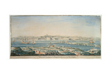 View of Chateau St. Philip, Menorca Giclee Print by Joseph Chiesa