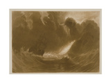 R.803 Ship in a Storm, from the 'Little Liber', Engraved by the Artist, C.1826 Giclee Print by J. M. W. Turner