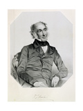 Sir William Jackson Hooker (1785-1865) 1851 Giclee Print by Thomas Herbert Maguire