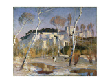 The Palace of the Popes, Avignon Giclee Print by Adrian Scott Stokes
