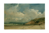 Coastal Scene Giclee Print by Richard Parkes Bonington