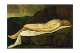 The Dead Christ, 1888 Giclee Print by Alphonse Legros