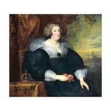 Marie De Medici (1573-1642) 1631 Giclee Print by Sir Anthony van Dyck