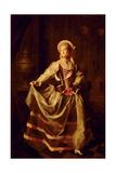 Portrait of Alexandra Petrovna Liovshina (1757-82) 1775 Giclee Print by Dmitri Grigor'evich Levitsky