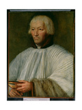 Portrait of an Ecclesiastic Giclee Print by Quentin Massys or Metsys