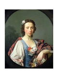 Portrait of Flora Macdonald, 18th Century Giclee Print by Allan Ramsay
