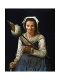 Old Woman Spinning, 1646-48 Giclee Print by Michael Sweerts