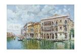 The Ca' D'Oro, Venice Giclee Print by Federico del Campo