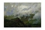 Mount El'Brus, Russia, 1894 Giclee Print by Nikolai Aleksandrovich Yaroshenko