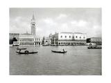 View of the Molo from the Island of San Giorgio Giclee Print