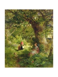 Springtime in the Woods Giclee Print by Charles James Lewis