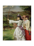 The Fair Toxophilites, 1872 Giclee Print by William Powell Frith
