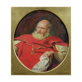 Sir John Falstaff, C.1840 Giclee Print by Charles Robert Leslie