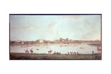 The Thames at Twickenham Giclee Print by Peter Tillemans