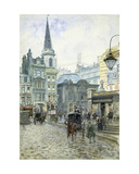 St. Swithin's Church: Cannon Street Giclee Print by Henry Edward Tidmarsh