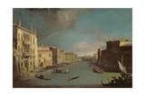 View on the Grand Canal, 1729 Giclee Print by  Canaletto